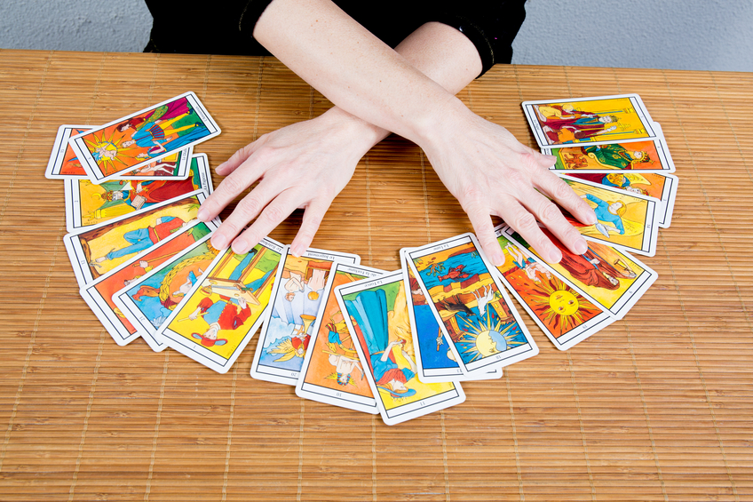 Hands of an  fortuneteller